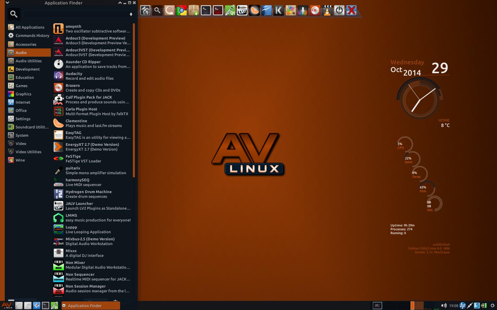 AVL604Desktop