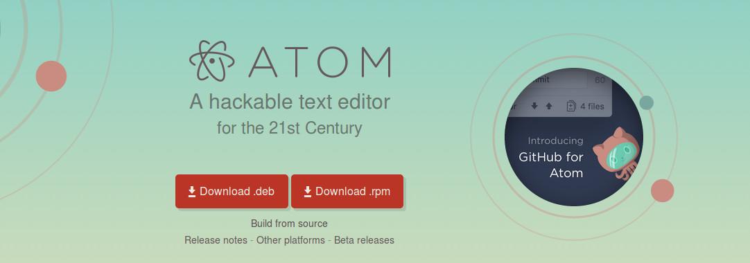 معرفی ادیتور فوق العاده  atom editor | اتم