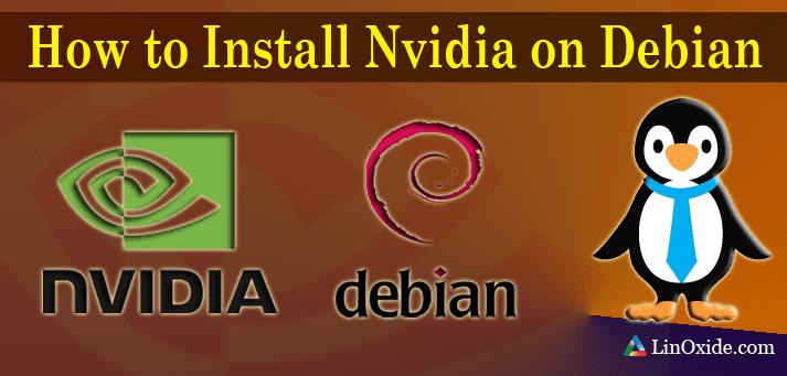 نصب درایور کارت گرافیک nvidia در Debian