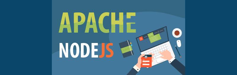 اجرای هم زمان nodejs در کنار apache2 در سرور php